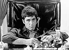 Al Pacino as Scarface: Colombian war for dummies