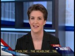 Convention Coverage: Rachel Maddow Goes Post-Idiotic