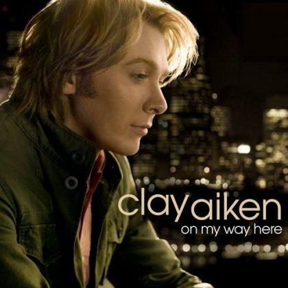clay aiken on my way here 01 2008 03 22 This is a real postcard, and the caption on the back is Young and gay and ...