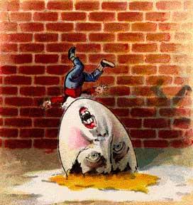 humpty dumpty falls