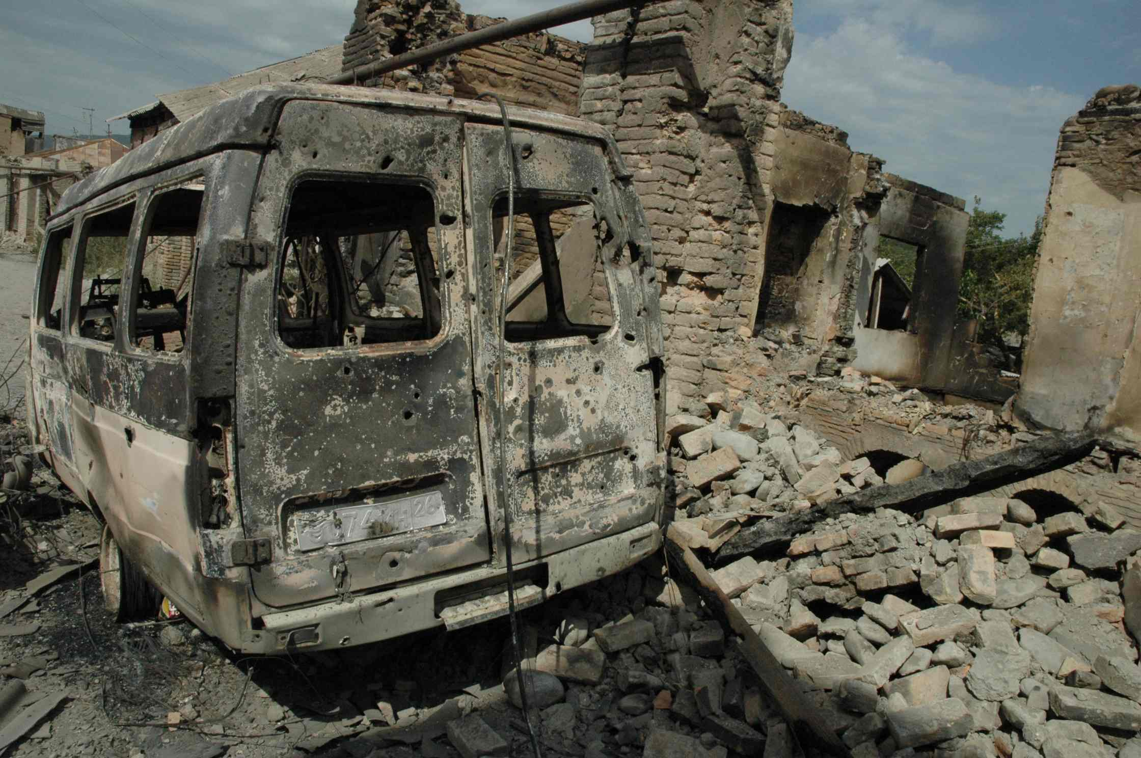 chechnya essay The first chechen war, also well-known as the war in chechnya, was a clash between the russian federation and the chechen republic ichkeria.