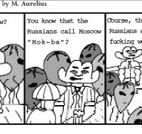 Comic Strip: So You're New to Moscow?