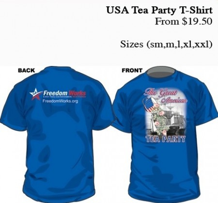 FreedomWorks' Corporate Whore Merch