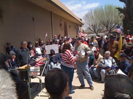 Victorville Tea Party - Barb Stanton