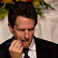 Geithner Grows A Pair...Of Ovaries, That Is...