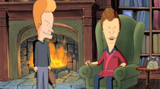 This Cheered Us Up Beavis Amp Butt Head As Film Promoters By The Exiled