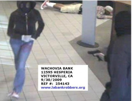 Victorville bank robbery