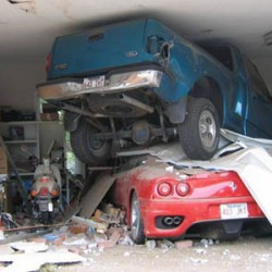Car Thieves Use Garages of Foreclosed Homes As Chop Shops