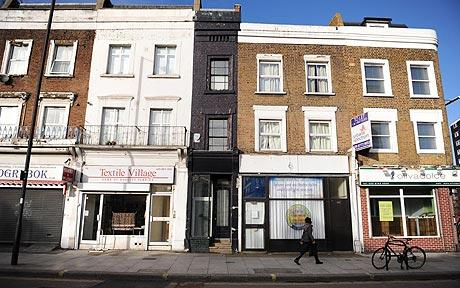 Narrowest House In Britain Just 66 Inches Wide Selling For