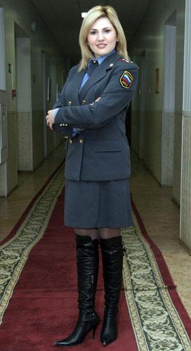 Софья ГРАНОВСКАЯ, начальник пресс-службы ГУВД по Воронежской области