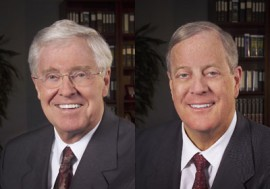 Koch Brothers: Charles+and+David+Koch