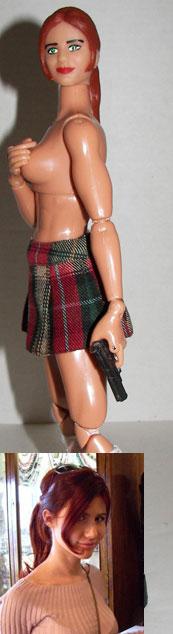 anna chapman doll