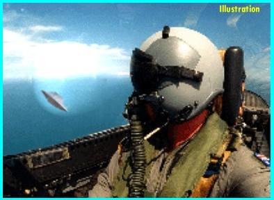 Pilot Chasing UFO