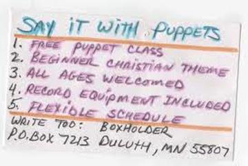 puppet class
