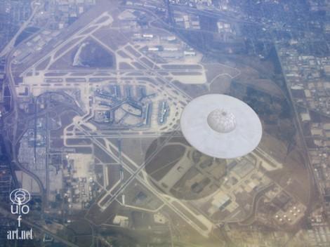 ufo over O'Hare