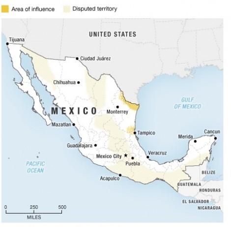 Gulf Cartel/Zeta Territory