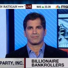 "WATCH: Mark Ames Is Back On MSNBC's Dylan Ratigan Show, Talking About The Tea Baggers' Slave Mentality, And America's ""Virtual Democracy"""