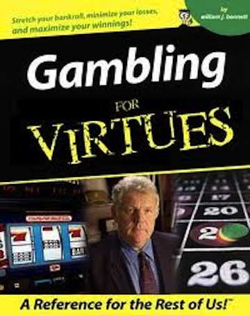 william bennett gambling addict exiled online