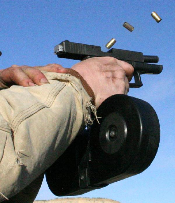 "Two gun enthusiasts answer ""why the glock """