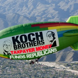 Billionaire Koch Brothers Use Their $1 Billion-A-Year Taxpayer-Funded Biofuel Subsidy To Bankroll Republicans, Tea Party, Right-wing Libertarian Groups