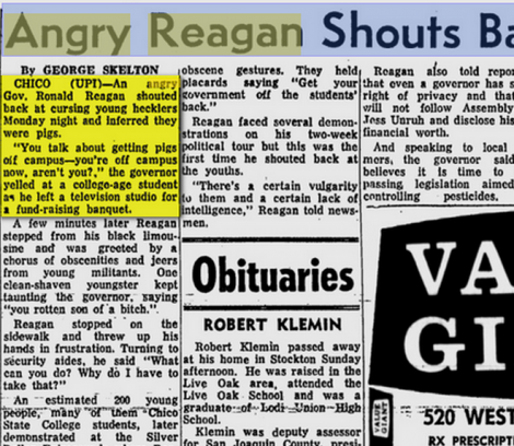 reagan 1970 angry calls students pigs3