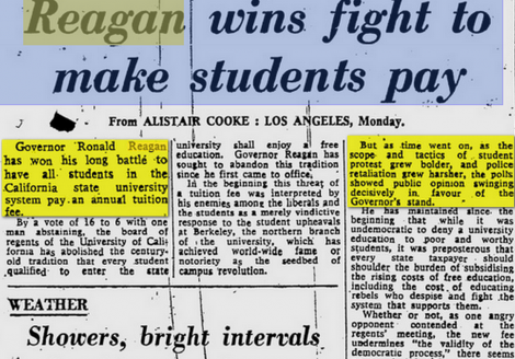 reagan 1970 forces students pay win2