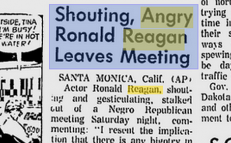 reagan-shouting at blacks 1966c