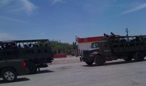 Army Patrol Potosi