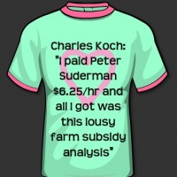 "Charles Koch: ""I paid Peter Suderman $6.25/hr and all I got was this lousy farm subsidy analysis"""