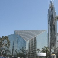 "Glory, Glory, Hallelujah! Lord Jesus Christ saves a bunch of mean, ignorant Orange County Okies from the sin of vanity, forecloses on their $18 million ""Chrystal Cathedral""!... [HT: Joe]"
