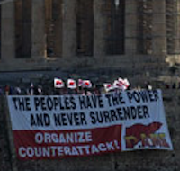 Greek Commies Storm The Acropolis On Eve Of Massive 2-Day General Strike...