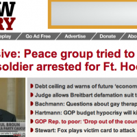 "What The Fuck Happened To Raw Story? ""Liberal"" Website Smears Anti-War Outfit, Suggests IVAW Aids & Abets Terrorism...What Sort Of Scumbag Would Publish A Planted Hit-Piece Like This?"