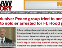 """Raw Story"" Smear-Job Update: Raw Story Removes Banner ""Exclusive"" Hit-Piece Against Anti-War Group From Front Page After Commenters Thrash ""Liberal"" Website...Planted Smear Is Still Online, Though...Raw Story Owes Big Apology & Explanation Over How They Published Blatantly Planted Hit-Piece..."