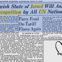 FLASHBACK: Israel In 1948 Asks UN Nations For Recognition Of Statehood