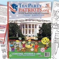 "Tea Party Homeschooling Coloring Book: Because It's Never Too Early For Kids To Start Spit-shining Billionaires' Shoes! (Or as Mises von Hayek once said: ""The freemarket loves child labor. Therefore, child labor equals liberty!"")"