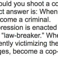 """Propaganda outfit set up by Koch bros moles from the Institute for Humane Studies tells readers: """"become a cop-killer""""..."""