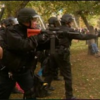Class War Brutality: Denver Cops Attack #OWS With Gas, Rubber Bullets...Target Anyone Helping Wounded...