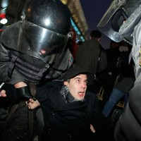Alert! Former Exile Columnist Edward Limonov Arrested In Moscow Protesting Election Fraud...