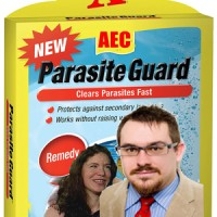 "Are you suffering from a bad parasite-troll infestation? Then you need AEC's patented ""Parasite Guard,"" guaranteed to treat the full range of Atlantic parasite-trolls, including the notoriously hardy McArdle worm. Supplies limited. Get yours today. Medicare and food stamps accepted."