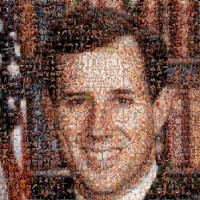 Rick Santorum Campaign Poster Made From Gay Porn Images [HT: Nastya]