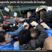 SLIDESHOW: Class War In Spain As Protesters Fight Police State [HT: Angel]
