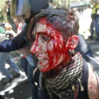 SHOCKING VIDEO FROM SPAIN PROTEST: Austerity Gestapo Brutally Attacks Peaceful Protesters, Over 76 Injured And Counting…