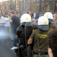Austerity Gestapo In Greece Attacks Striking Steel Workers With Tear Gas, Truncheons