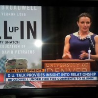 "Paula Broadwell's ""ALL (up) IN (my snatch)"" [HT: Mark]"