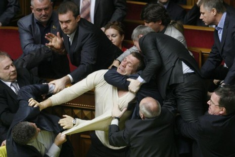 ukraine rada fight1