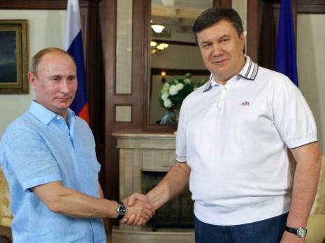 Yanukovych Putin1