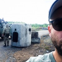 "Yasha Levine travels to Ukraine's front line: ""Refugees, neo-Nazis, and super patriots: Heading into the Ukrainian war zone"""