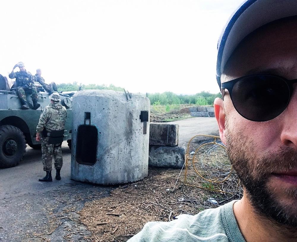 "Yasha Levine travels to Ukraine's front line: ""Refugees, neo-Nazis, and super patriots: Heading into the Ukrainian war zone"""
