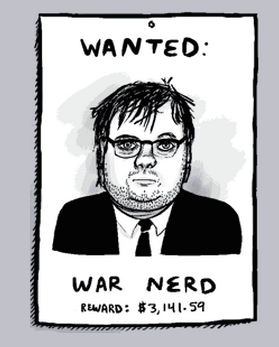 War Nerd Wanted Poster