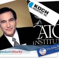 Exposing The Rightwing PR Machine: Is CNBC's Rick Santelli Sucking Koch?